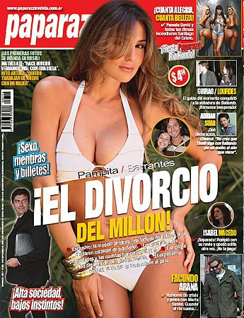 Carolina Ardohain - Paparazzi Magazine Cover [Argentina] (4 September 2008)