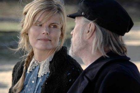 Mariel Hemingway  ('Martha,' left) and David Carradine ('Captain Zeb,' right) star in Lionsgate Home Entertainment's The Golden Boys.
