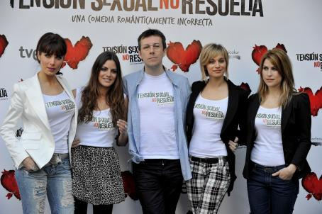 Pilar Rubio - ''Unresolved Sexual Tension'' Photocall In Madrid, 17 March 2010