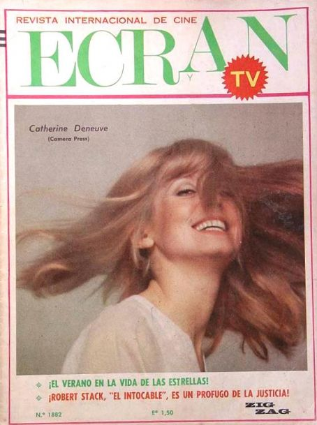 Catherine Deneuve - Ecran Magazine [Chile] (28 February 1967)