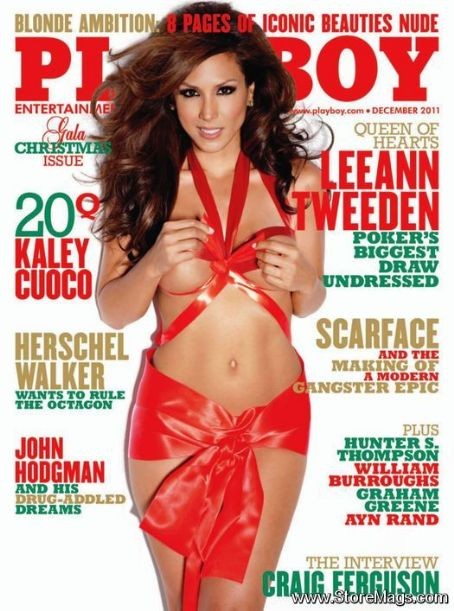 Leeann Tweeden - Playboy Magazine Cover [United States] (December 2011)