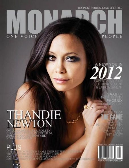 Thandie Newton - Monarch Magazine Cover [United Kingdom] (24 February 2012)