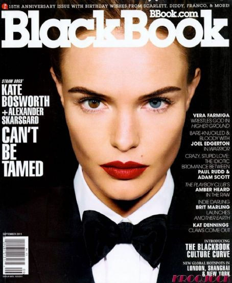 Kate Bosworth - Black Book Magazine Cover [United States] (September 2011)