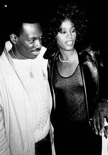 Eddie Murphy and Whitney Houston