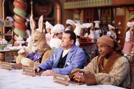 Art LaFleur Jay Thomas,  and Michael Dorn in Disney's THE SANTA CLAUSE 3 The Escape Clause
