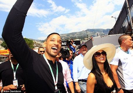 Nicole Scherzinger - Let's get this show on the road! Will is full of excitement as he and Nicole arrive at the Grand Prix to see her boyfriend Lewis compete