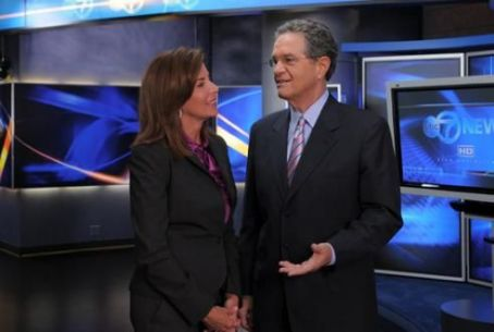 Kathy Brock  & Co-Anchor Ron Magers