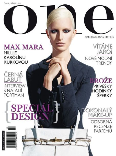 Karolina Kurkova - ONE Magazine Cover [Slovakia] (March 2011)
