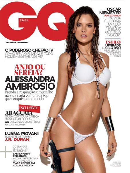 Alessandra Ambrosio - GQ Magazine Cover [Brazil] (April 2011)