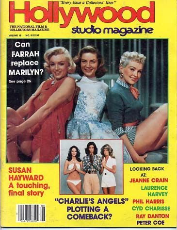 Betty Grable - Hollywood Studio Magazine [United States] (August 1985)