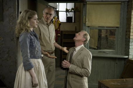 Ed Begley Jr. Left to Right: Evan Rachel Wood as Melody, Larry David as Boris, and Ed Begley, Jr. as John. Photo taken by Jessica Miglio, © Gravier Productions, Courtesy of Sony Pictures Classics