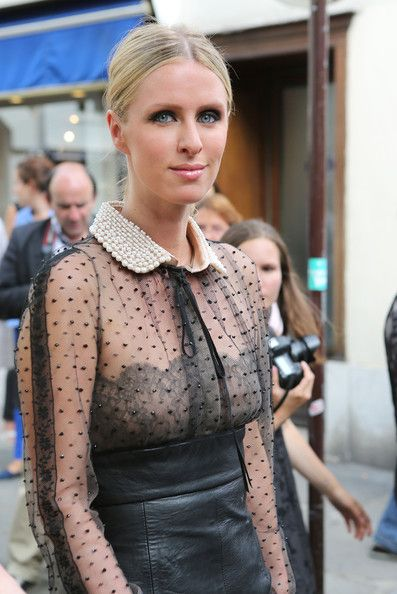 Nicky Hilton is spotted out with her mother Kathy during Paris Fashion Week on July 4, 2012 in Paris, France
