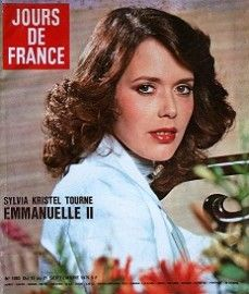 Sylvia Kristel - Jours de France Magazine Cover [France] (21 September 1975)