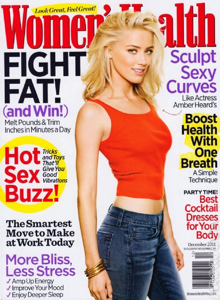 Amber Heard - Women's Health Magazine Cover [United States] (December 2011)