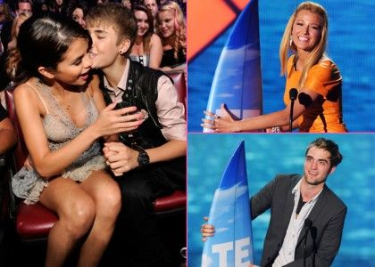 2011 Teen Choice Awards: The Show, The Winners