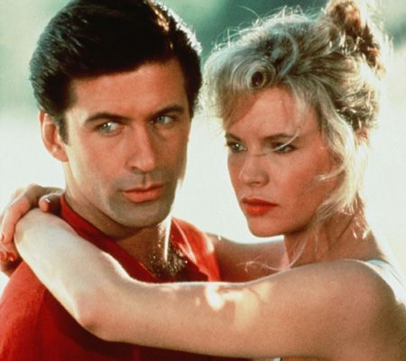 Kim Basinger and Alec Baldwin in The Marrying Man (1991)