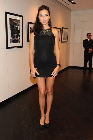 Adriana Lima attends the IWC Flagship Boutique New York City Grand Opening at IWC Boutique on April 25, 2012 in New York City