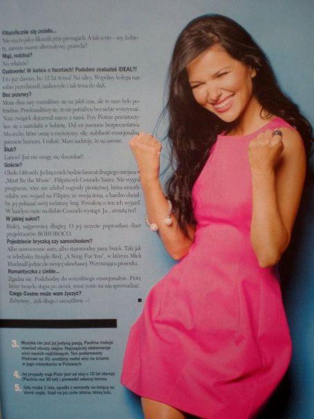 Paulina Sykut  - Cosmopolitan Magazine Pictorial [Poland] (July 2011)