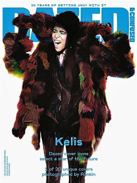 Kelis - Dazed & Confused Magazine Cover [United States] (13 December 2011)