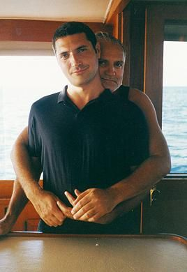 Gianni Versace  and Antonio D'amico