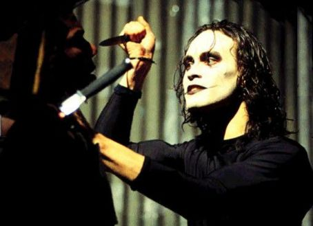 The Crow Brandon Lee in  (1994)