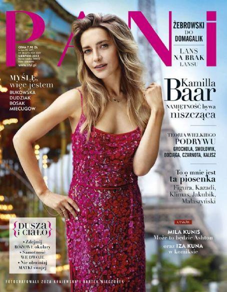 Kamilla Baar Pani Magazine Poland