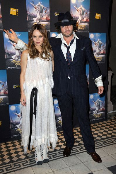 "Vanessa Paradis, longtime parter of Johnny Depp, attends a preview of the film ""A Monster in Paris"""