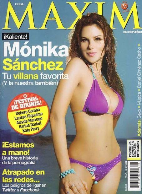 Mónika Sánchez  - Maxim Magazine Pictorial [Mexico] (August 2010)