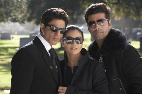 Karan Johar Shahrukh Khan, Kajol and  in My Name is Khan. © Dharma Productions. All rights reserved.