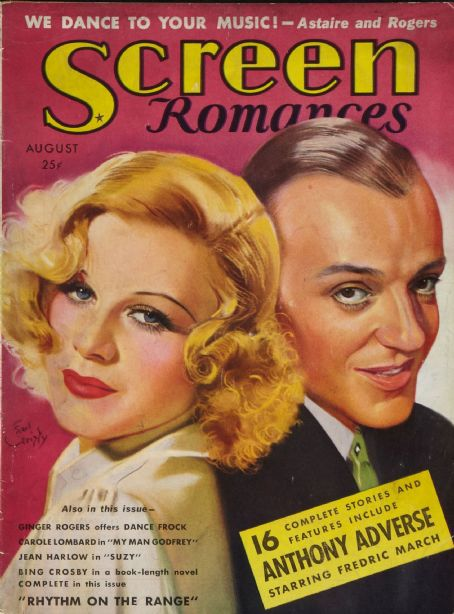 Fred Astaire - Screen Romances Magazine [United States] (August 1936)