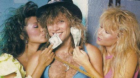 Pamela Manning  and Jon Bon Jovi