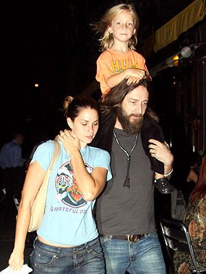 Allison Bridges Chris Robinson and  with son Ryder