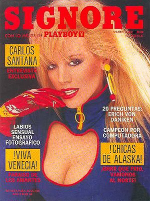 Shannon Tweed - Playboy Magazine [Mexico] (March 1986) Magazine Cover