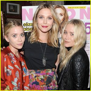 Elizabeth Olsen related to the olsen twins
