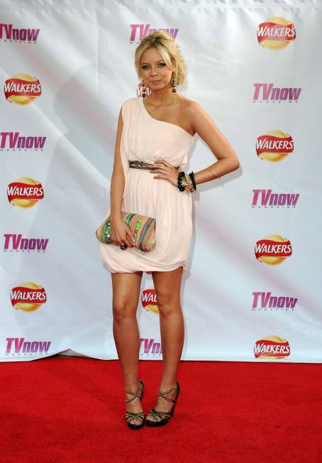 Sacha Parkinson  - TV Now Awards On May 22, 2010 In Dublin, Ireland