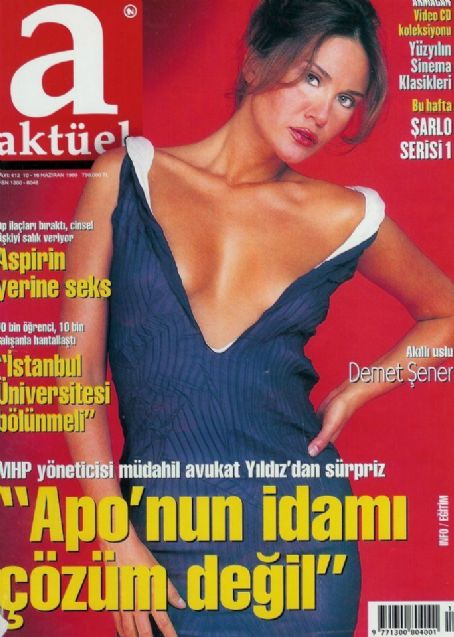 Demet Sener - Aktüel Magazine Cover [Turkey] (10 June 1999)