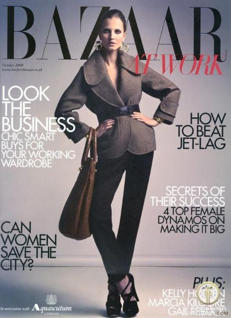 Kasia Szwan Harper's Bazaar UK - October, 2009