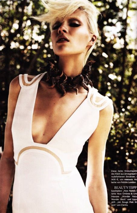 Britt Maren  Vogue Germany April 2011