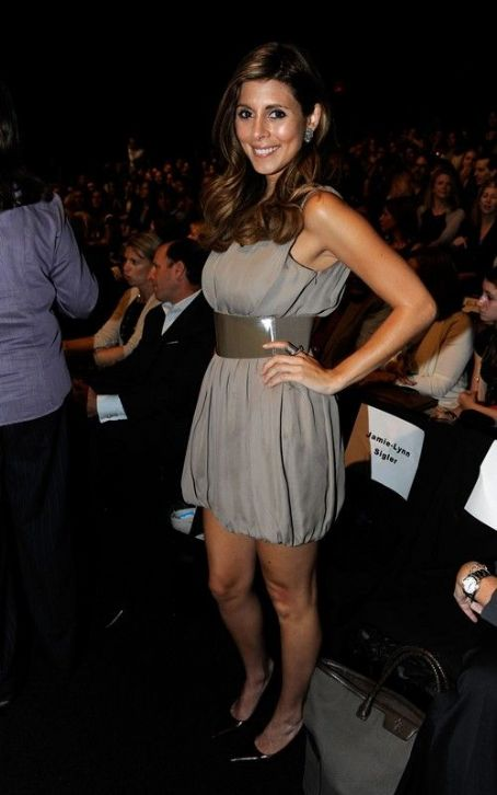 Jamie-Lynn Sigler: Project Runway Fashion Week Woman