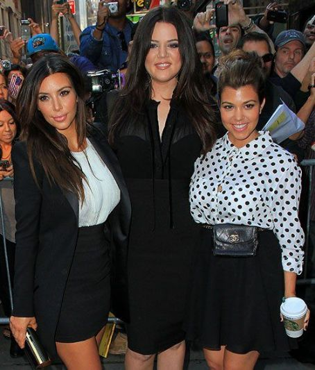 "Kim Kardashian - Kim, Kourtney & Khloe Kardashian Say ""Good Morning America"""