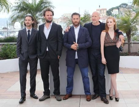 Shia LaBeouf showed off his new long hair at the 'Lawless' photo all during the 65th Annual Cannes Film Festival at Palais des Festivals on May 19 in Cannes, France