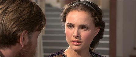 Padmé Amidala Ewan McGregor and Natalie Portman as Obi-Wan Kenobi and Senator Amidala Naberrie.