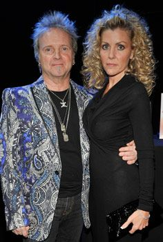 Joey Kramer Joey and Linda Kramer