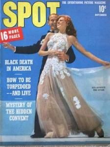 Rita Hayworth - Spot Magazine [United States] (November 1942)