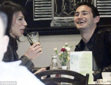Frank Lampard - Frank takes out Christine's mom