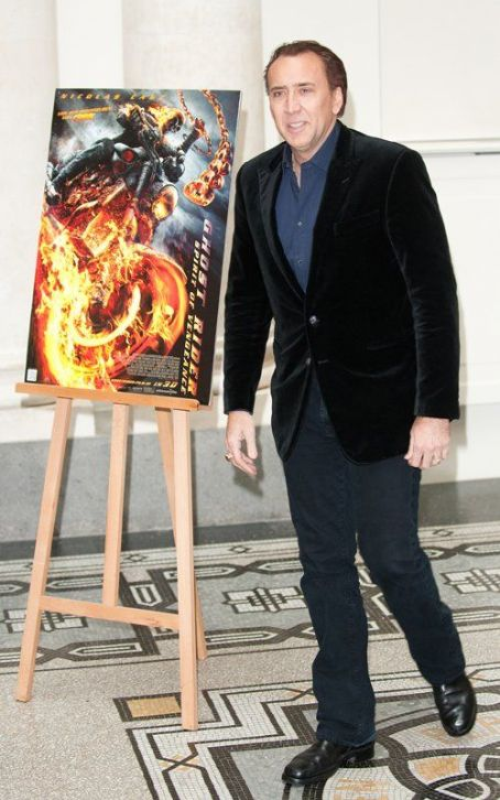 "Nicolas Cage Takes ""Ghost Rider"" to Germany"