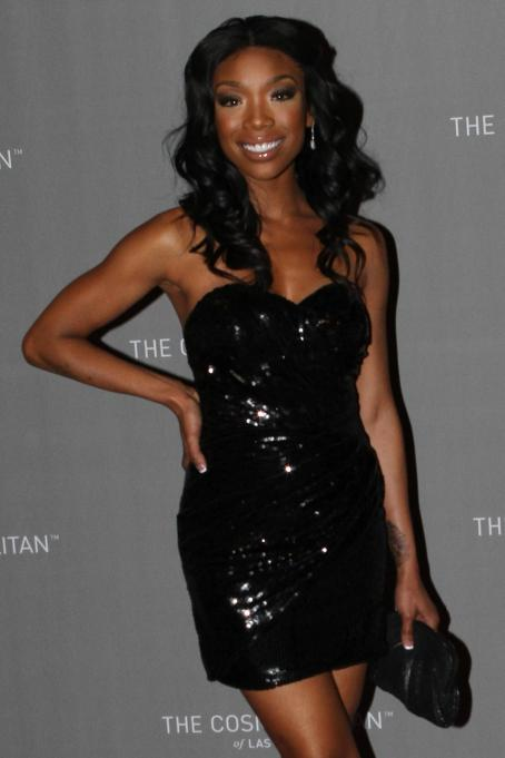 Brandy Norwood - The Cosmopolitan Grand Opening and New Year's Eve Celebration with Jay-Z and Coldplay at Marquee Nightclub in The Cosmopolitan on December 31, 2010 in Las Vegas, Nevada