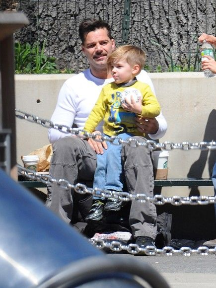 Ricky Martin and son Matteo