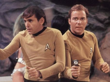 Walter Koenig  and William Shatner in Star Trek