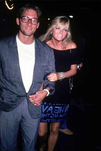 Cheryl Tiegs and Tony Peck